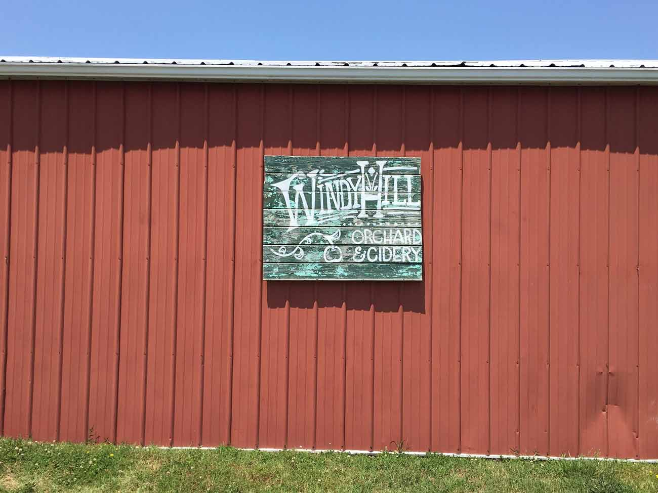 19 miles from Charlotte: a perfect Saturday afternoon tasting hard cider at Windy Hill Orchard and Cider Mill