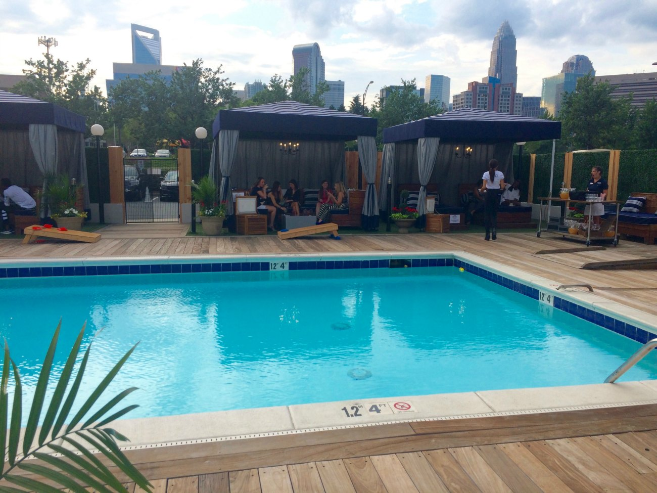 FIRST LOOK: Poolside cabanas and popsicle cocktails at Craft City Social Club and City Lights Rooftop