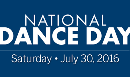 Join the entire country in promoting health and self-esteem during National Dance Day