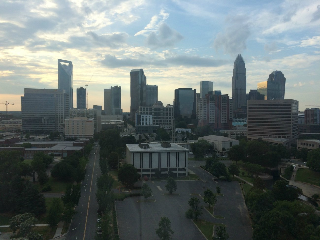 Why do Charlotte angel investors like to invest in certain industries and not others?