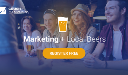 Learn from and connect with other digital marketers in Charlotte at Crush Campaigns' Marketing + Beer Meetup