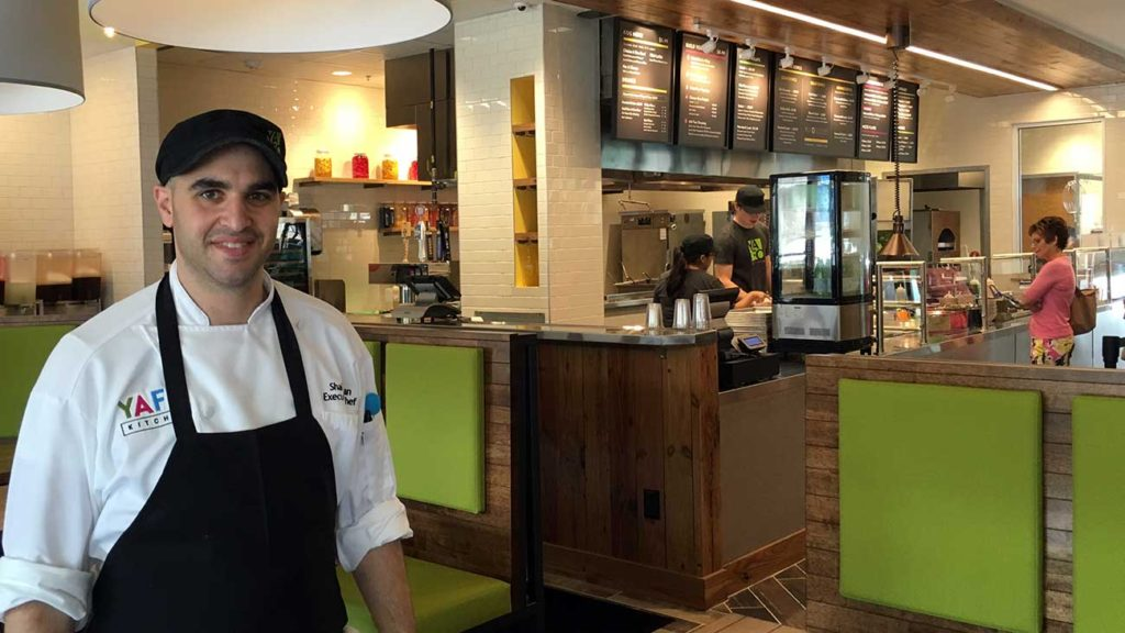 Yafo taking the space formerly occupied by Just Fresh in Dilworth