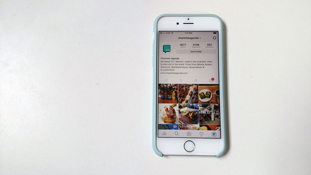 Smart Charlotte social media users are moving quickly to Instagram Stories