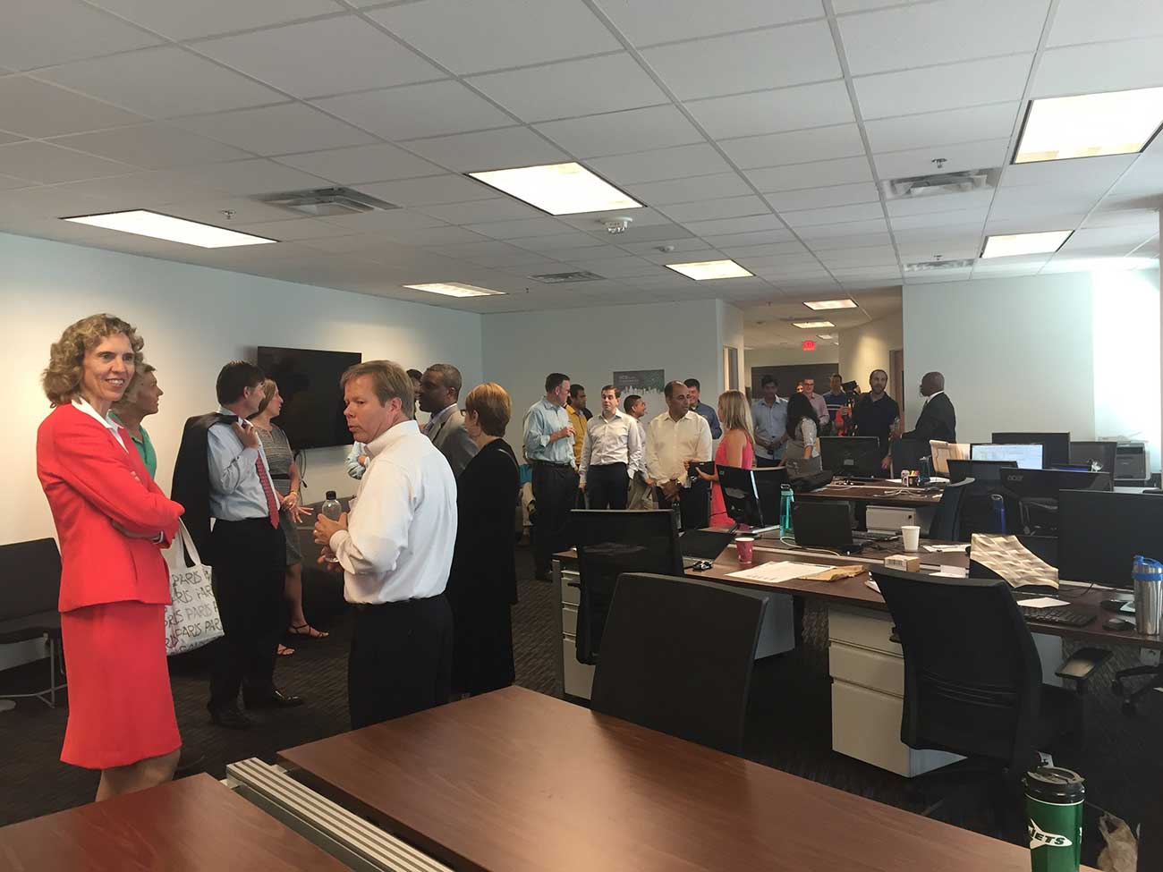 Charlotte startup DealCloud just moved from coworking into a new Uptown office
