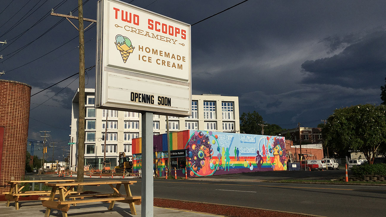 Five things I learned at the soft opening of Two Scoops Creamery