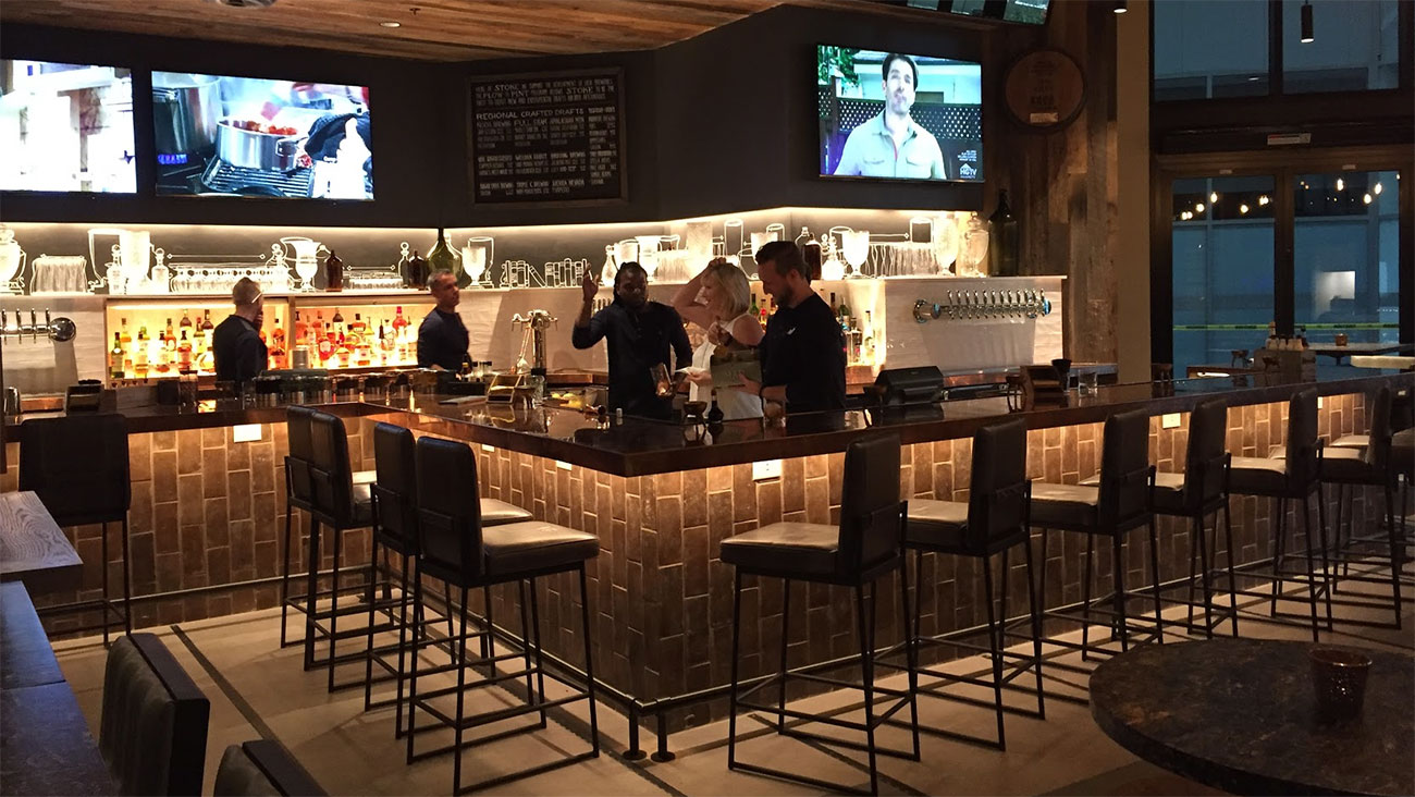 The Marriott City Center has set a new standard for Uptown. Check out their new coffee, restaurant and bar spaces