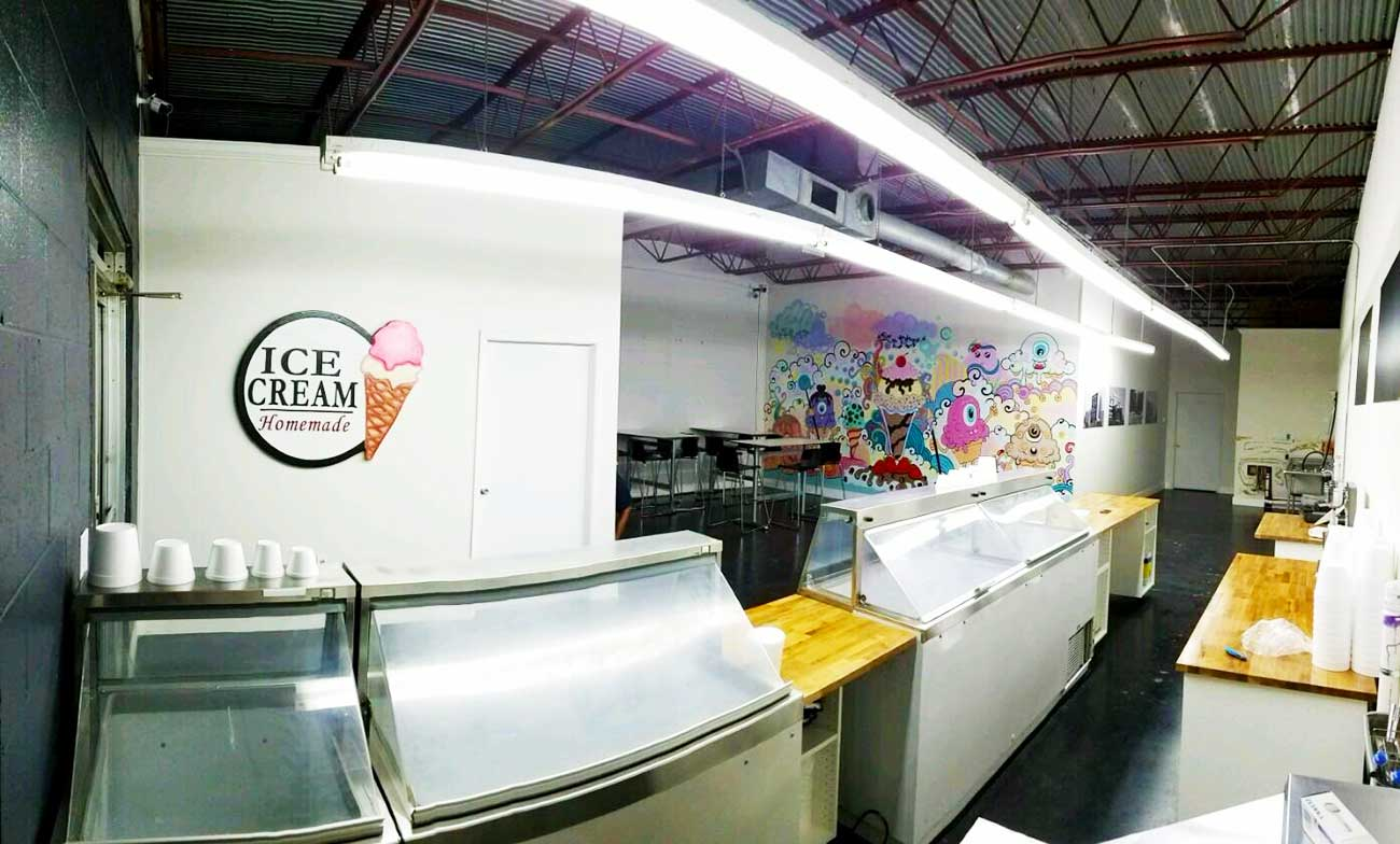 FIRST LOOK: Two Scoops Creamery is opening early next week