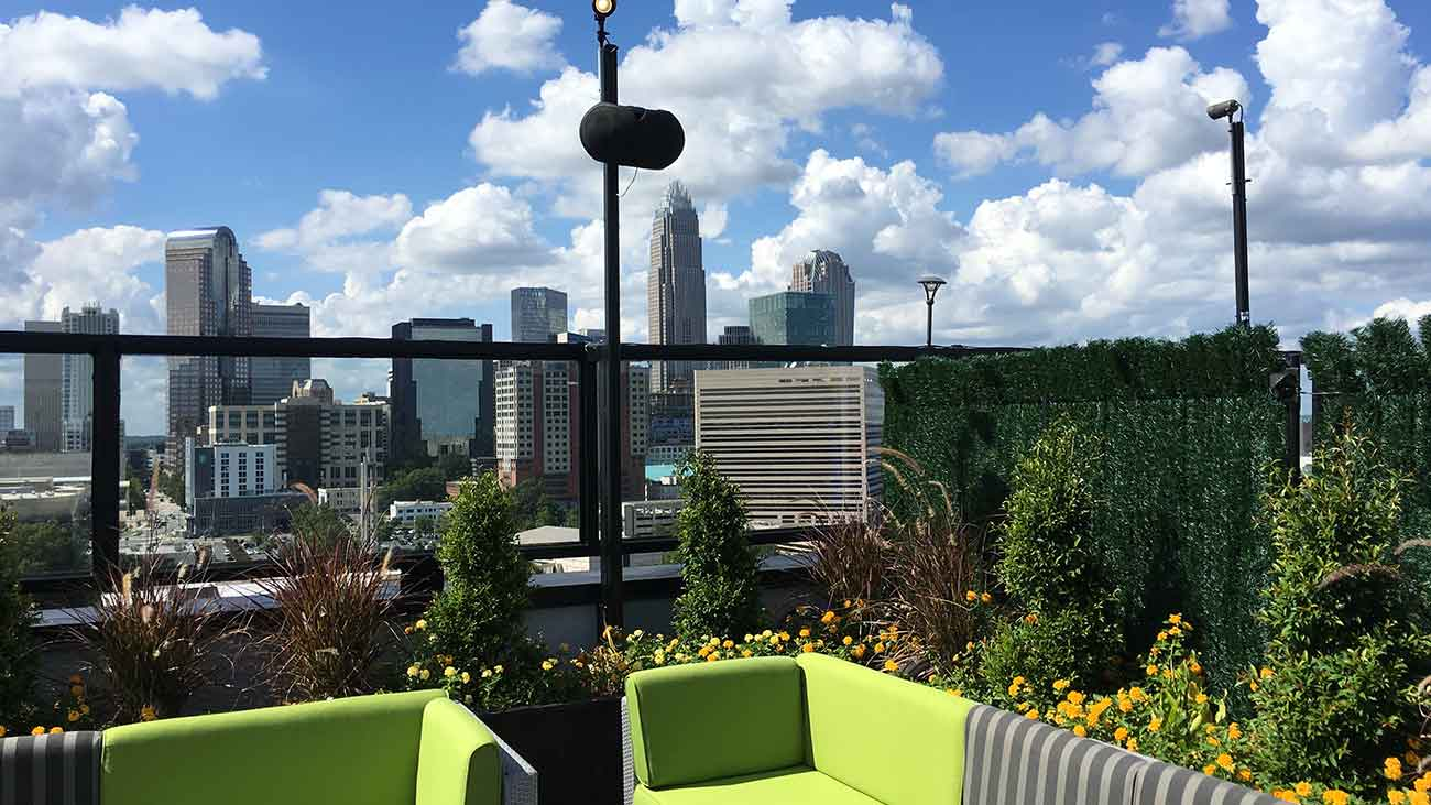 Partiers love City Lights for now, but Fahrenheit remains the #1 rooftop bar in Charlotte