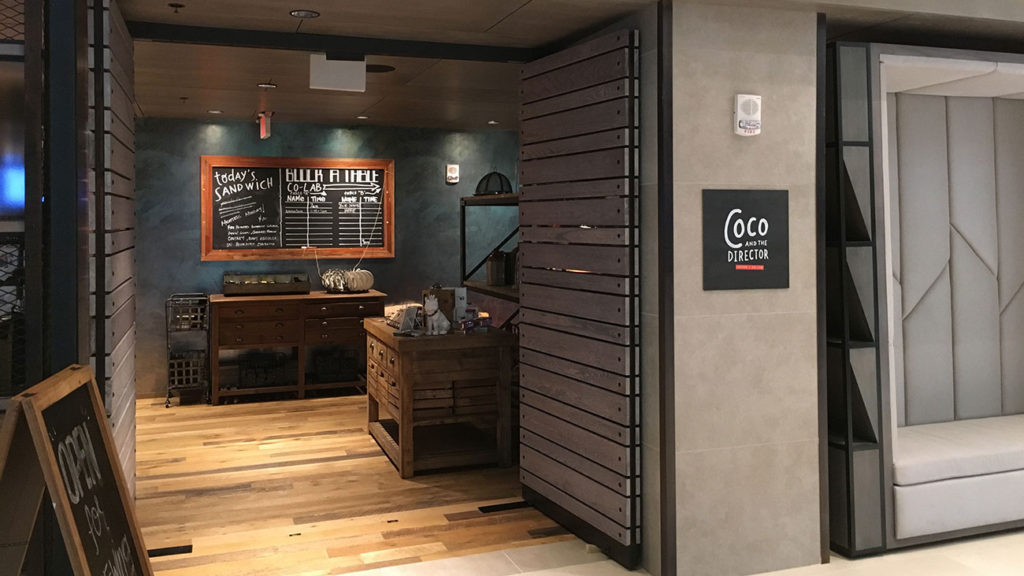 Move over Caribou Coffee, there's a new banker coffee hangout in town
