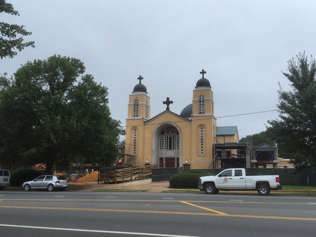 Here's what the Greek church on East Boulevard will look like when construction is finished