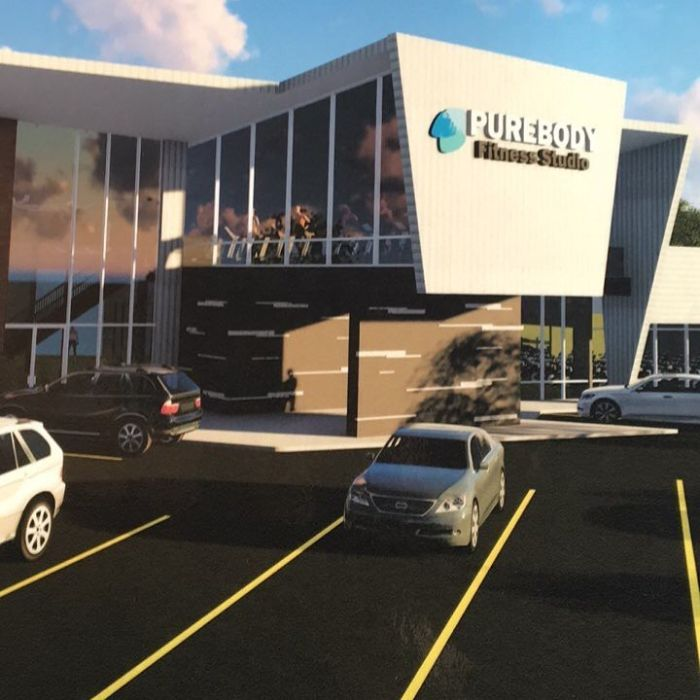 Rendering of the new Pure Body Fitness