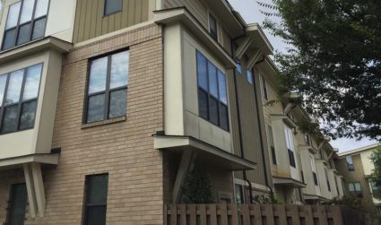 A NoDa townhome community has sued its builders over construction issues