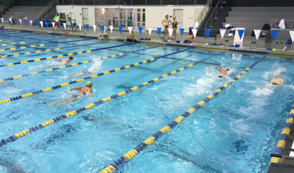 Swimming seems like an intimidating workout but it doesn't have to be