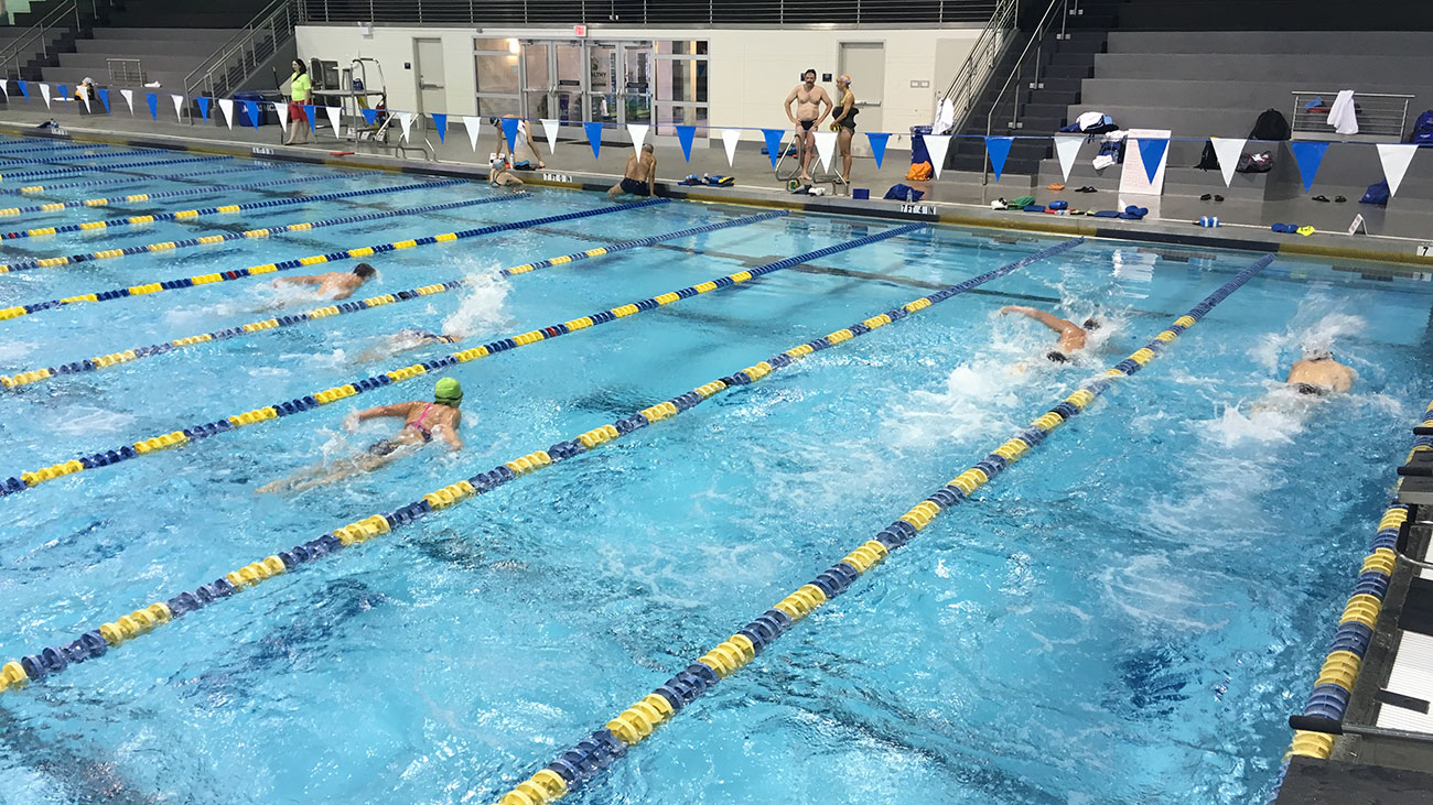 Inside Charlotte's swim team for adults who aren't Olympians