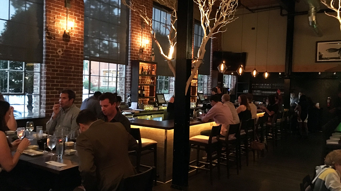 O-Ku opens tonight. Look at mouthwatering sushi inside South End's new spot.