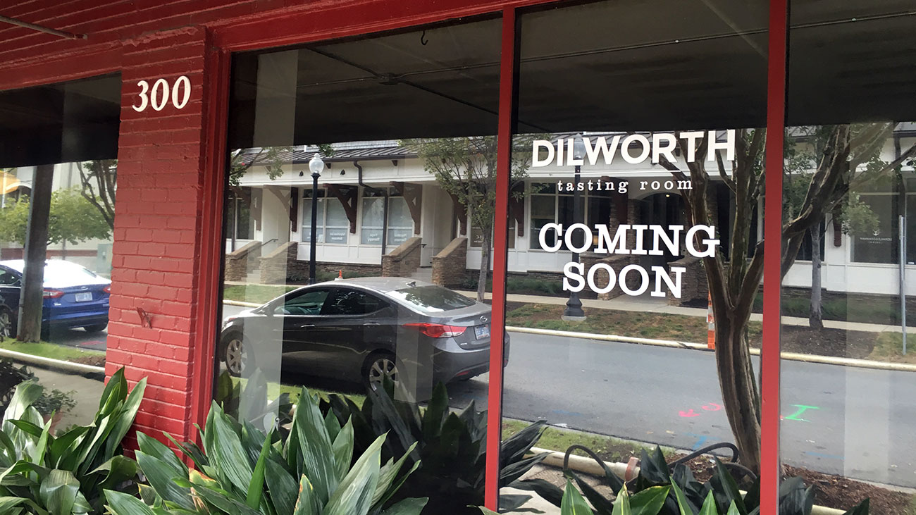 Dilworth Billiards space gutted to make way for Dilworth Tasting Room