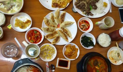 Head to Matthews for authentic Korean food served in the back of a market