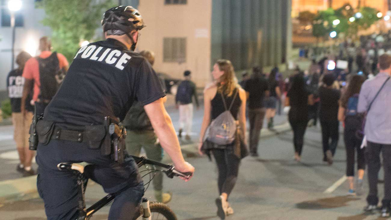 Protesters report being blocked from affluent neighborhoods as police change tactics