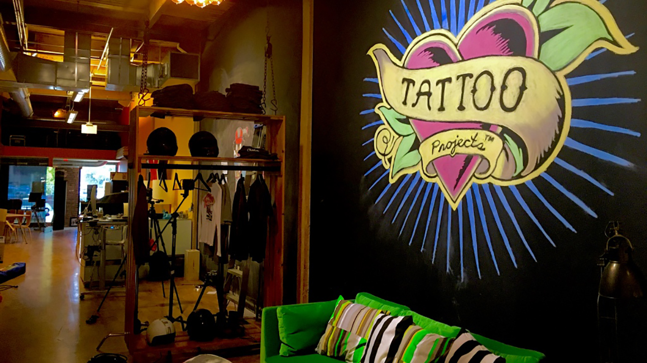 Cribs: Charlotte ad agency, Tattoo Projects, has the perfect mix of chaos, coolness and grunge