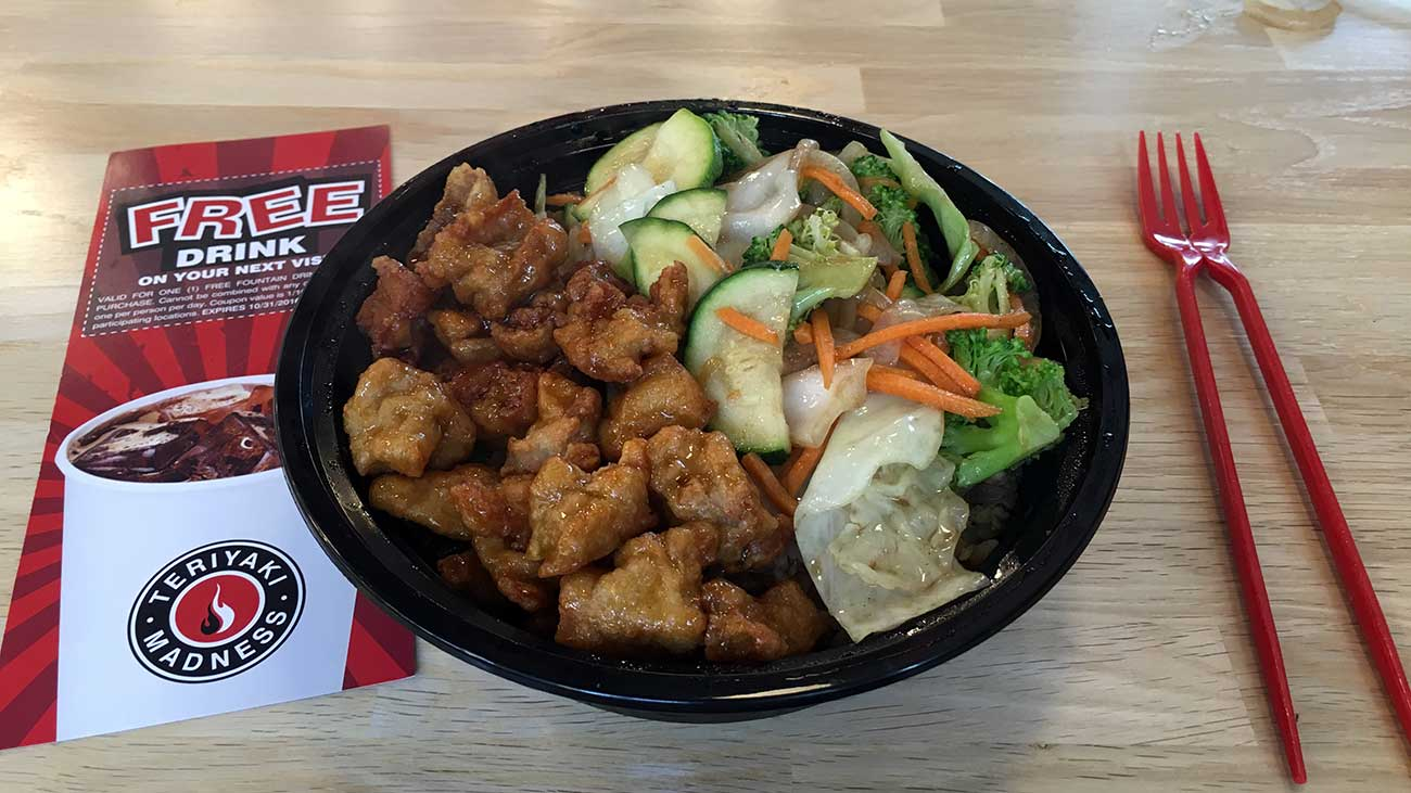 ICYMI: Teriyaki Madness opening in early May next to Hickory Tavern at the Metropolitan