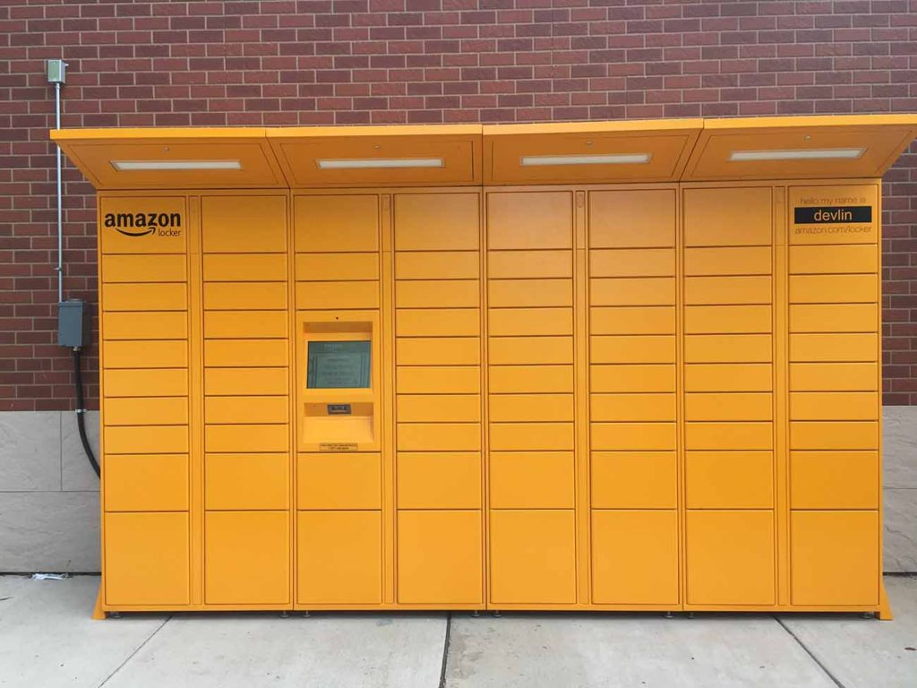 Two more Amazon Lockers have been added to Charlotte's roster