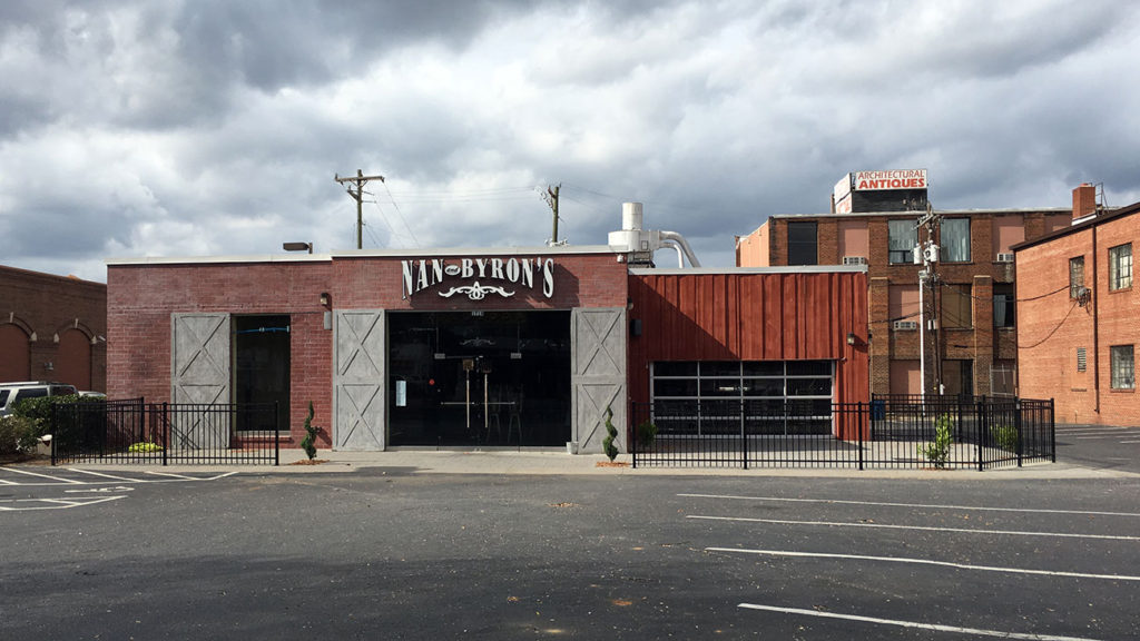 What will replace Nan & Byron's? I'd love to see a Brazwell's, but I'm hearing raw bar