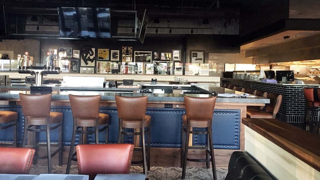 Construction photo update: Burtons Grill & Bar set to open Tuesday, November 1 at 11 a.m.