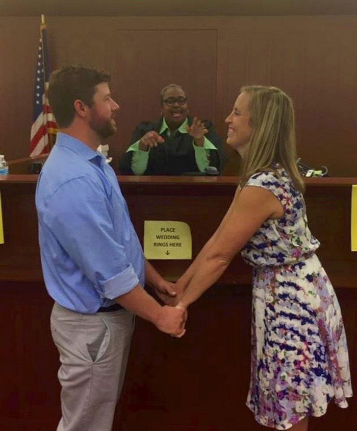 courthouse marriage