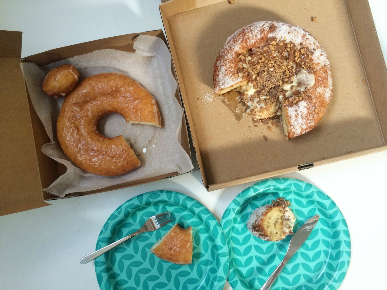 Two enormous doughnuts that you need to know about