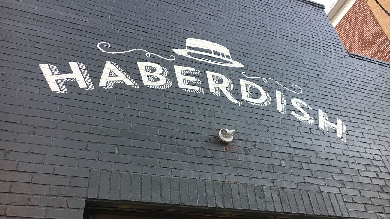View menu at Haberdish. This new NoDa restaurant opens on Friday.