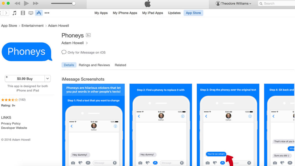 Adam Howell, local technologist, hit #1 on the App Store with $.99 Phoneys – but not for long…