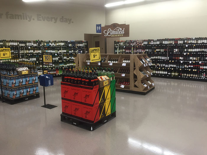 Wine and beer options have also multiplied.