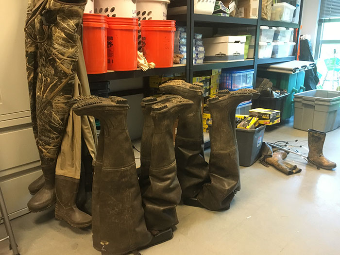 equipment-for creek cleanup