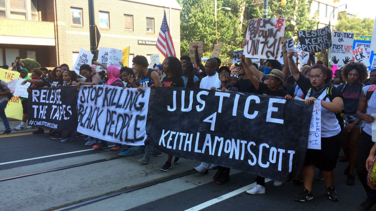 One year later, these six conversations will examine the shooting of Keith Scott and its aftermath