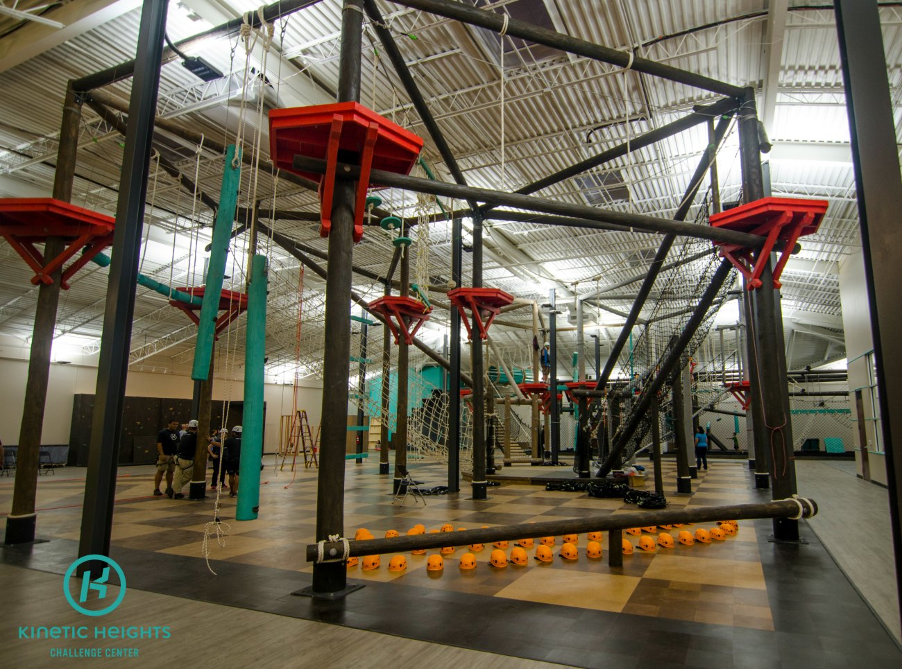 This 22,000-square-foot indoor obstacle course opens this weekend in south Charlotte