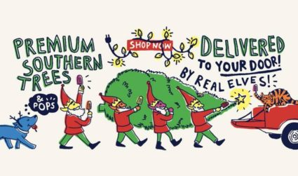 King of Pops will deliver Christmas trees and pops to your door beginning this Friday