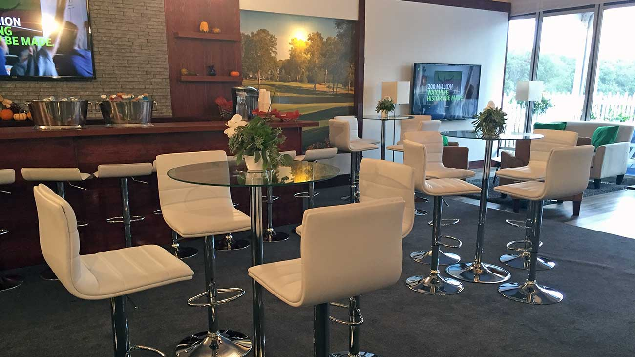 Here's what the luxury corporate chalets will look like at the PGA Championship