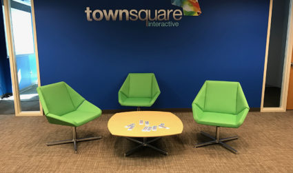 Townsquare Interactive just took over two floors of a building in Uptown. See inside