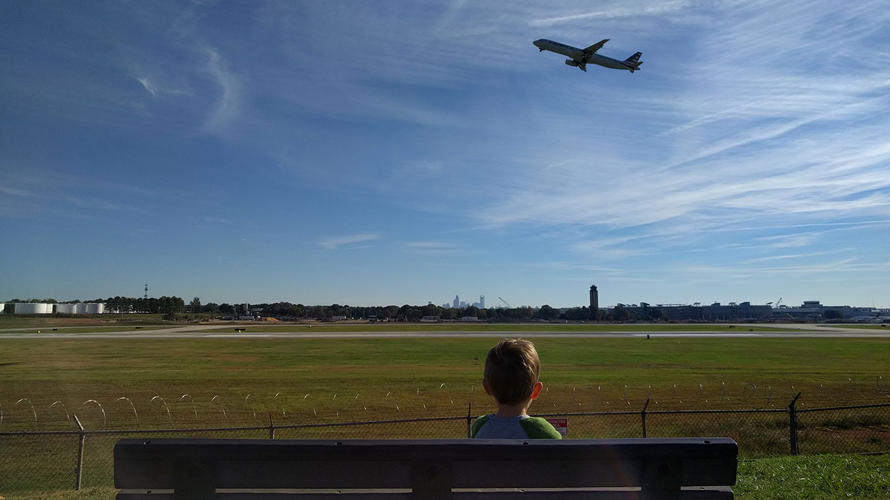 Will land by Charlotte's airport become a destination instead of a departure point?