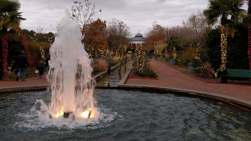 My toddler and I are obsessed with Daniel Stowe Botanical Garden's Holidays at the Garden