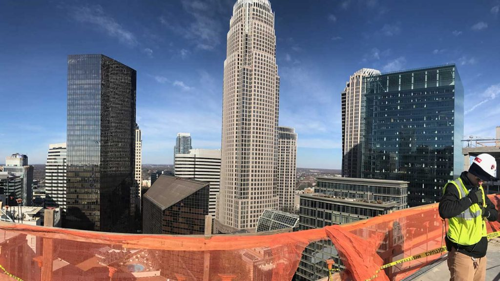 9 views from the tallest hotel in Charlotte