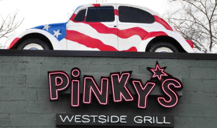 Pinky's is adding a heated patio so you can continue to enjoy your fried pickles outside