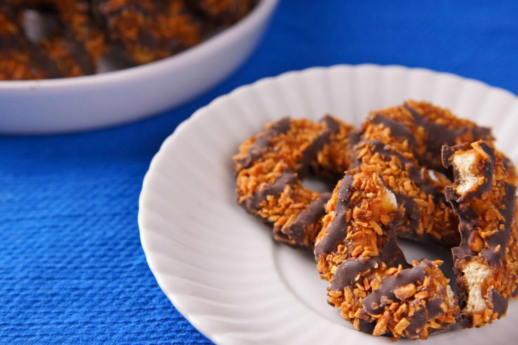 You can buy Girl Scout cookies online right now