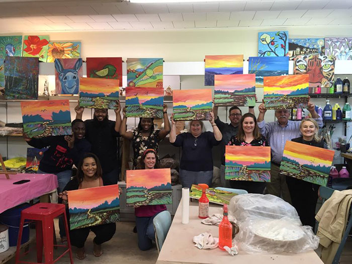 olive's-painting-class