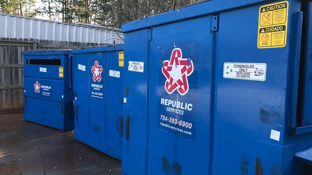 Avoid the cardboard tearing requirement by going to a self-serve recycling center