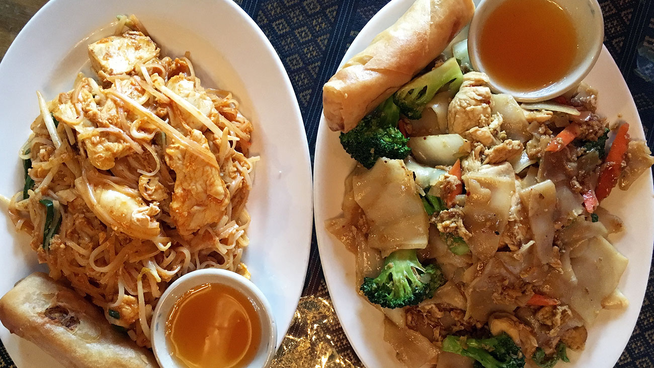 It's the little things that make lunch at Thai Taste addictive