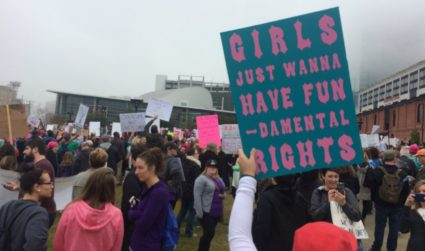 More than 10,000 people took to the streets on Saturday for the Women's March on Charlotte