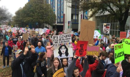 26 signs from the Women's March on Charlotte