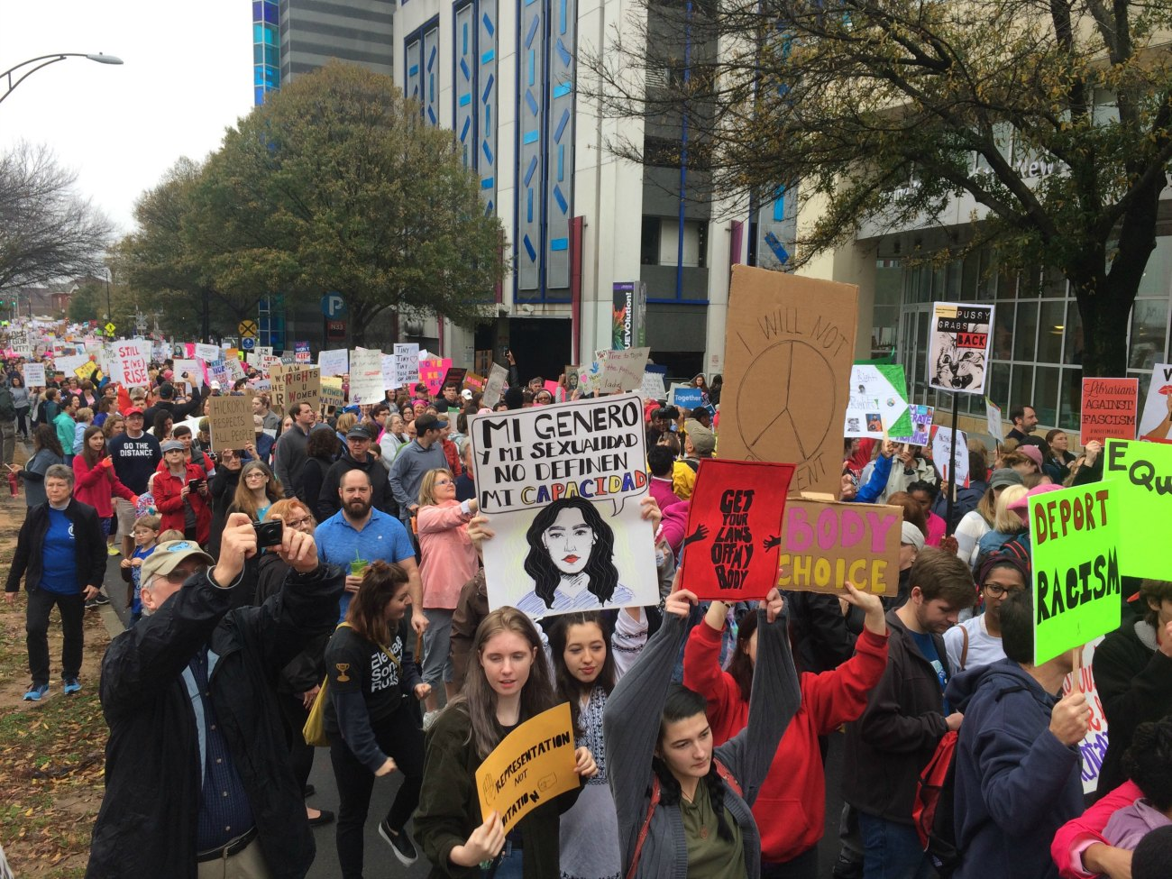 6,200+ people are interested in Saturday's Women United March in Uptown. Here's what to know