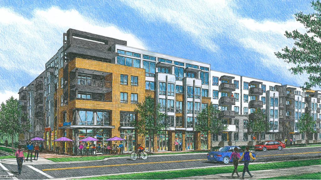 This new apartment project in Optimist Park is a step in the right direction